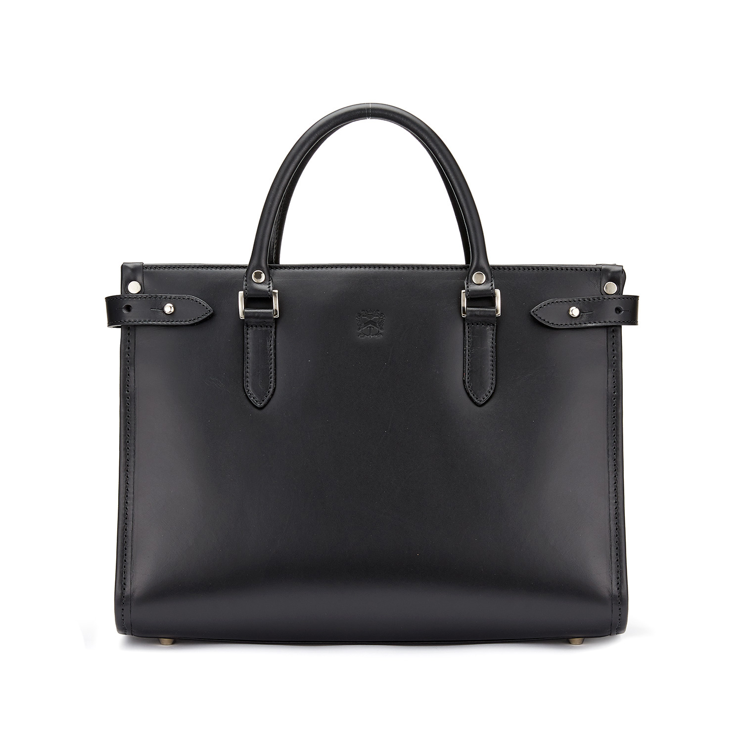 Tusting Kimbolton Leather Tote (small) in Black