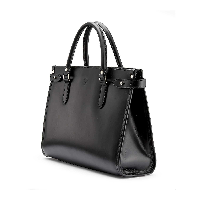 Tusting Kimbolton in Black Leather