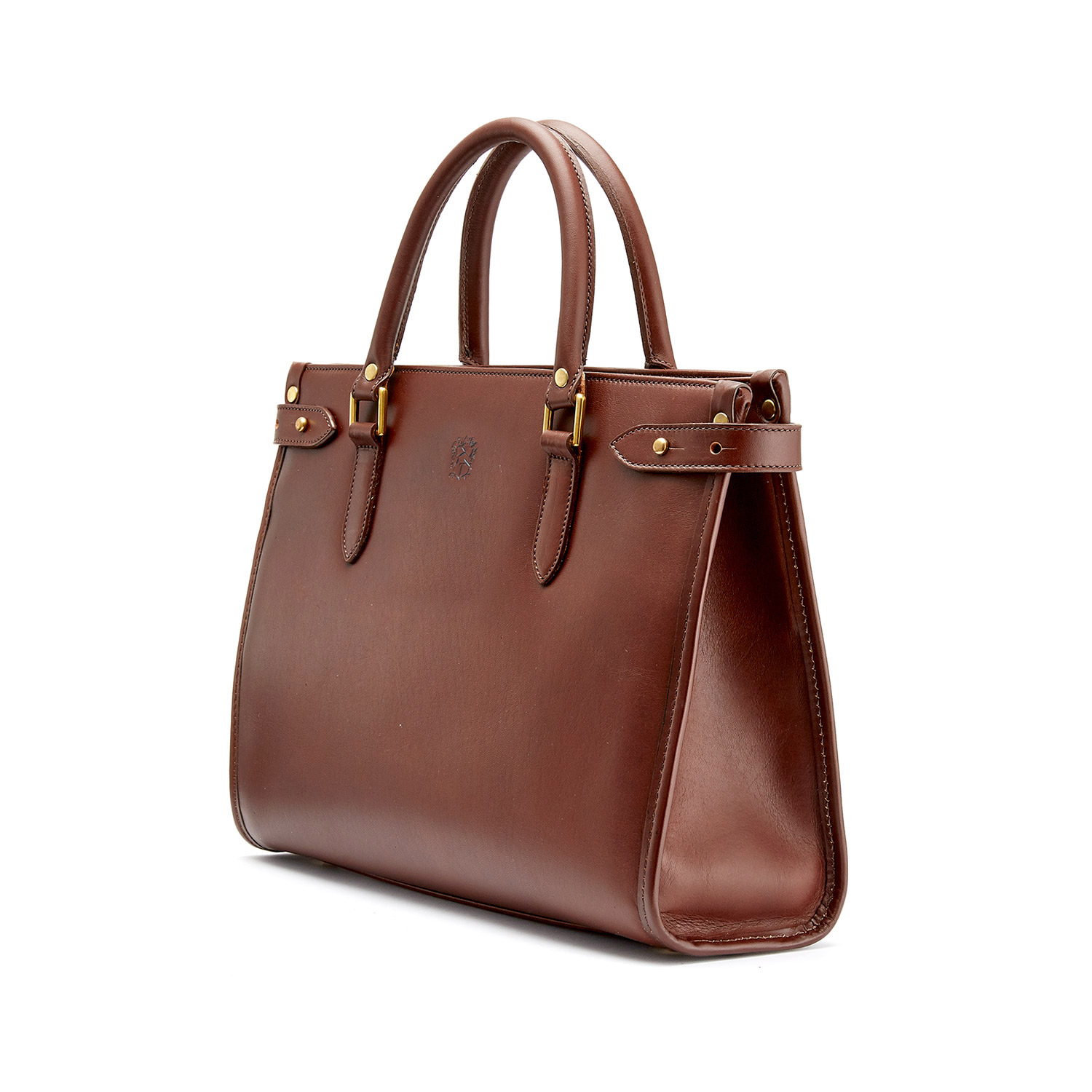 Tusting Kimbolton in Chestnut Leather