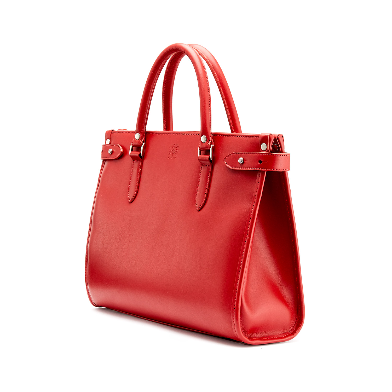 Tusting Kimbolton in Red Leather