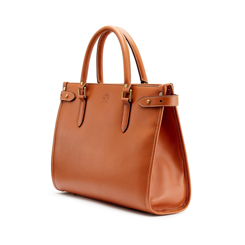 Tusting Kimbolton in Tan Leather