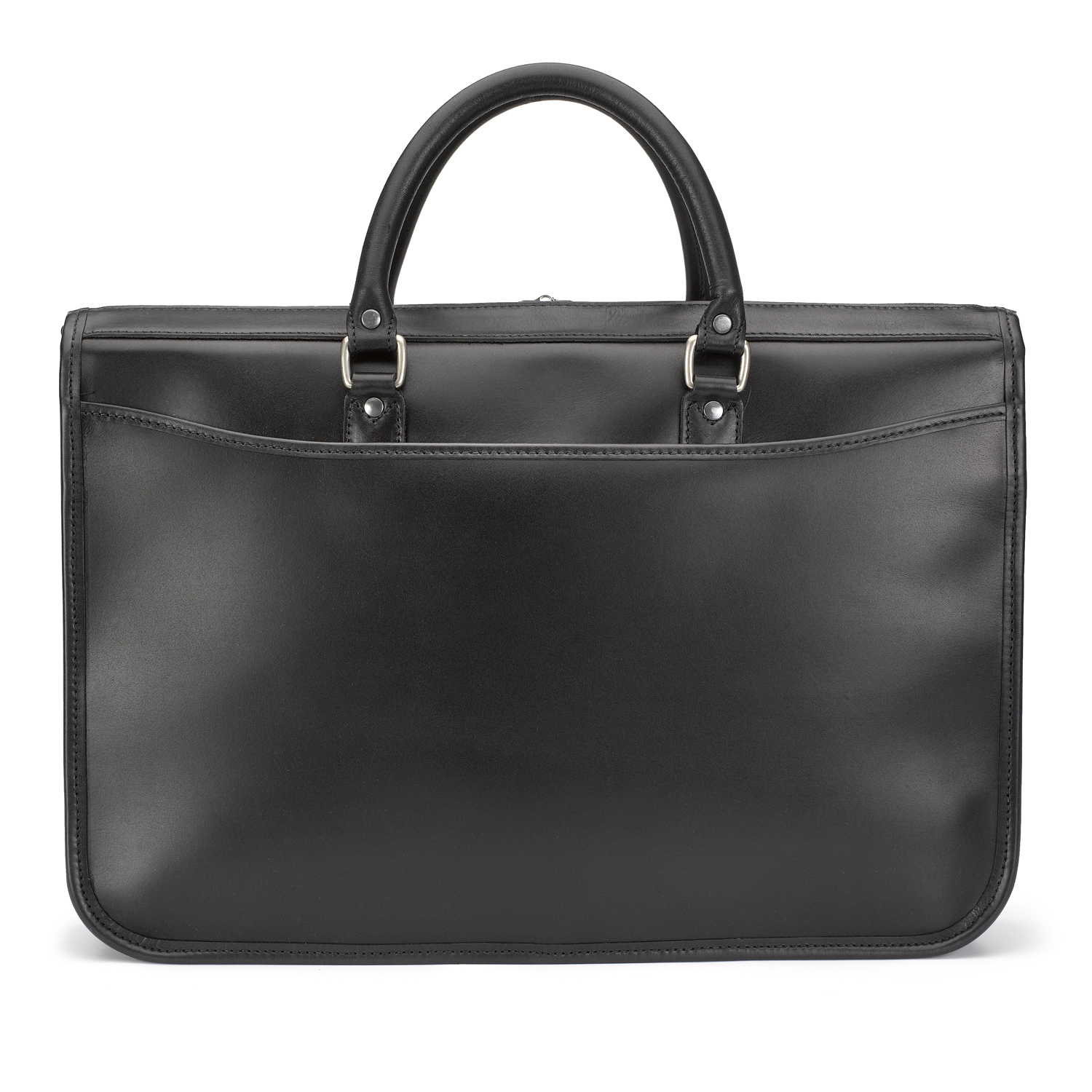 Tusting Marston Leather Briefcase, Made in England