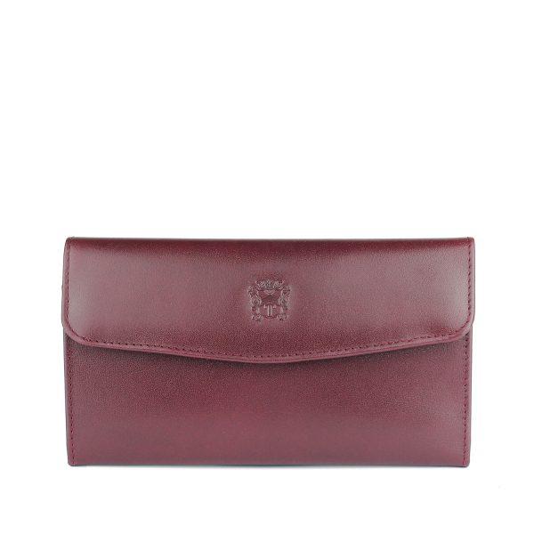 Tusting Purple Leather Purse