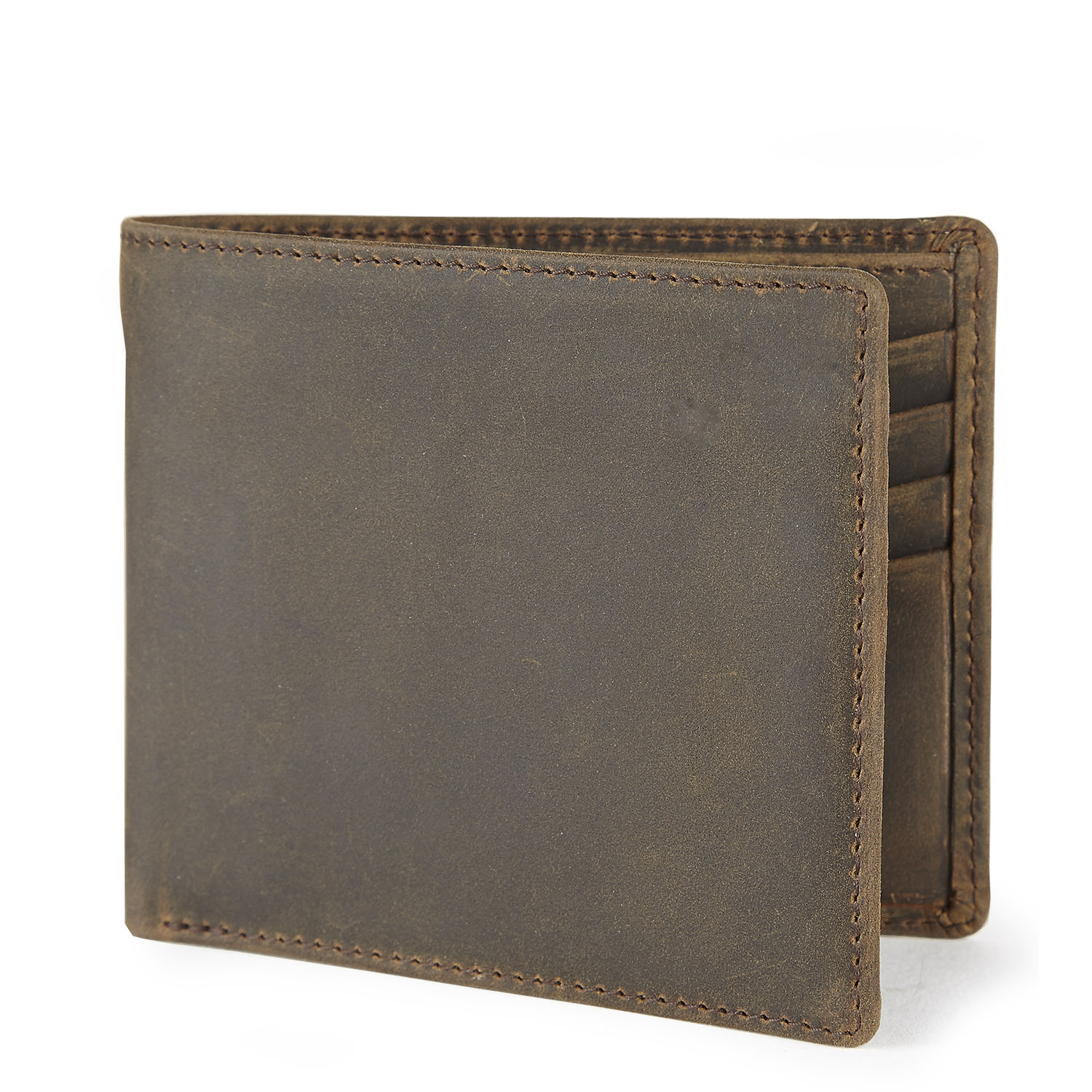 Tusting Distressed Leather Wallet