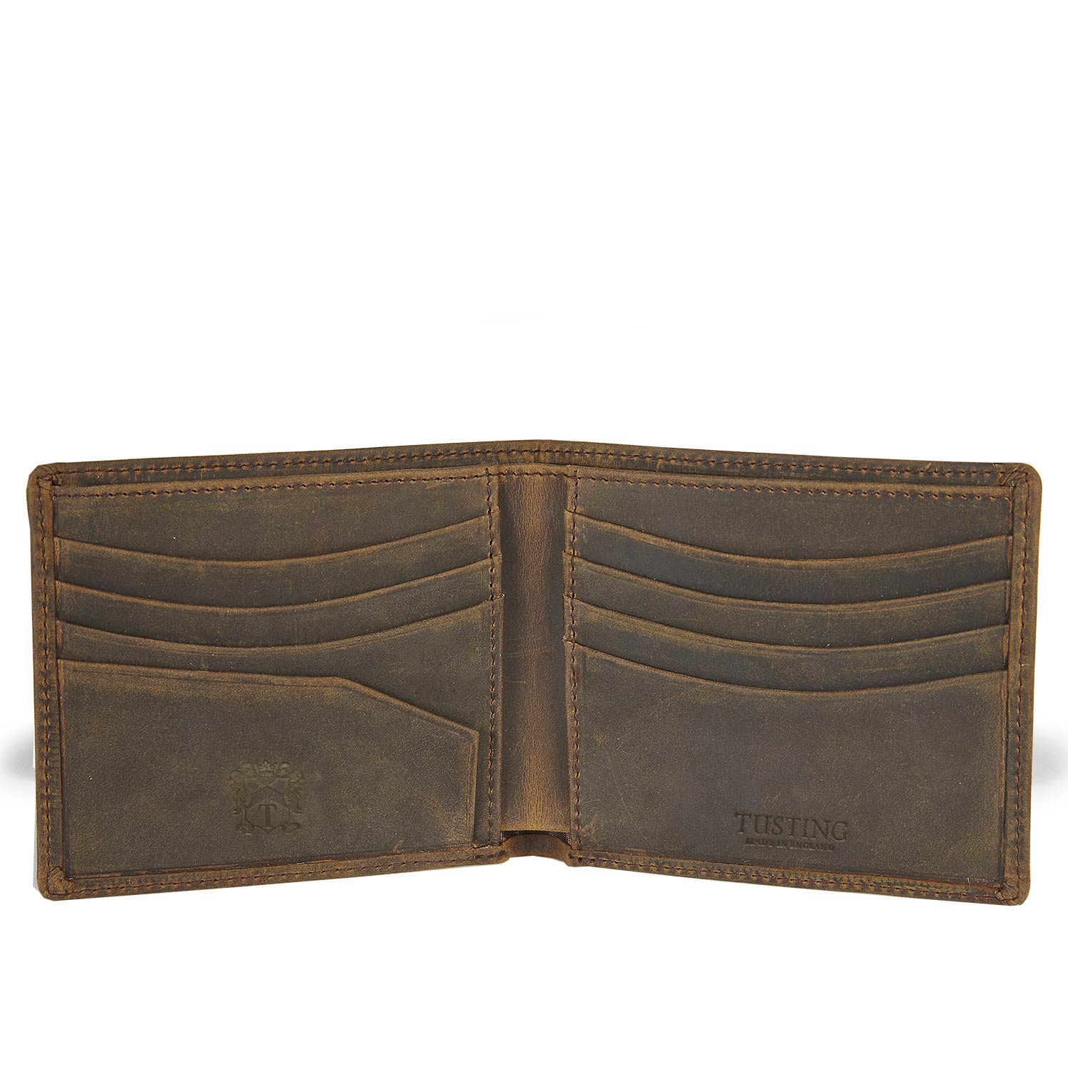 Tusting Aztec Crazyhorse Leather Wallet