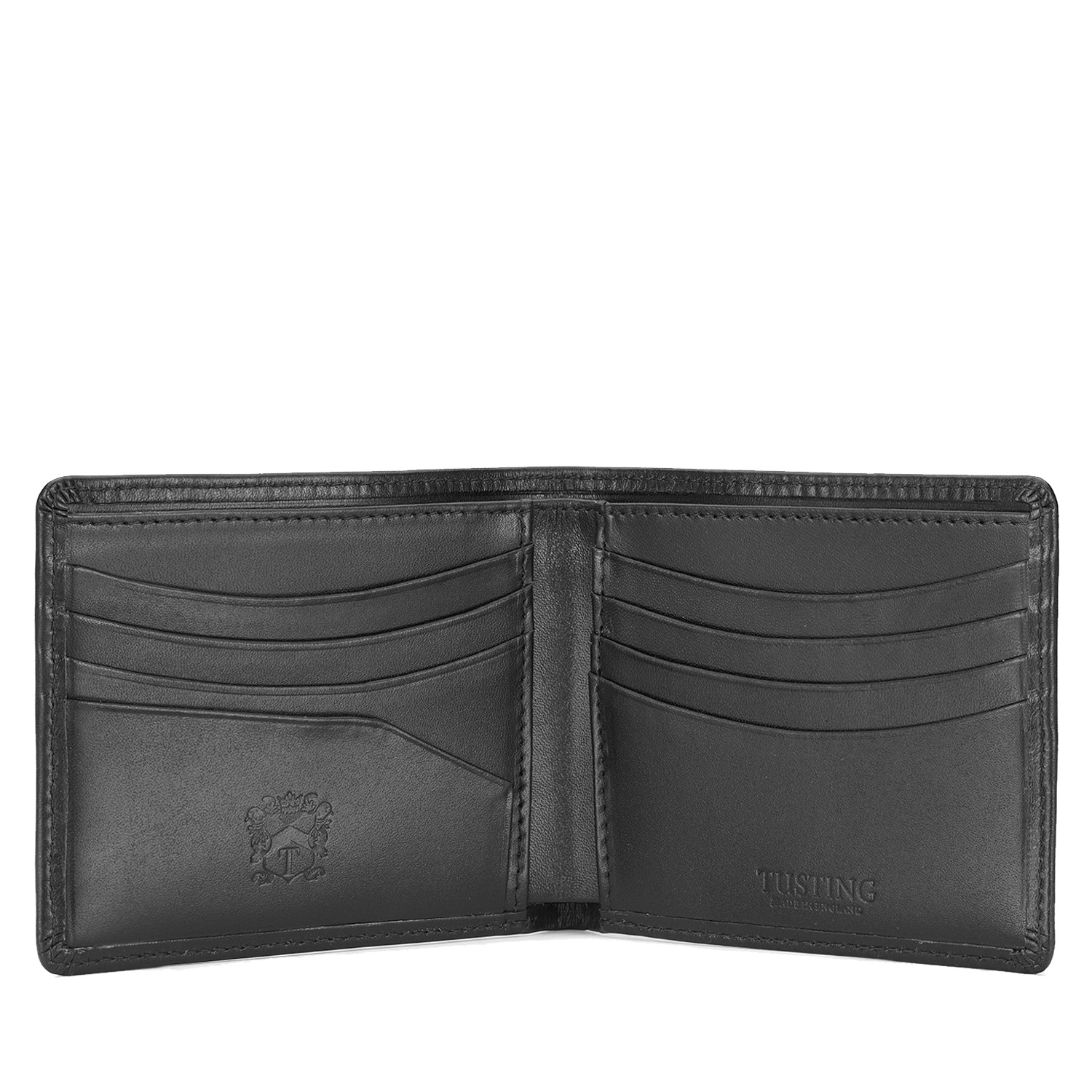 Tusting Black Leather Hip Waller
