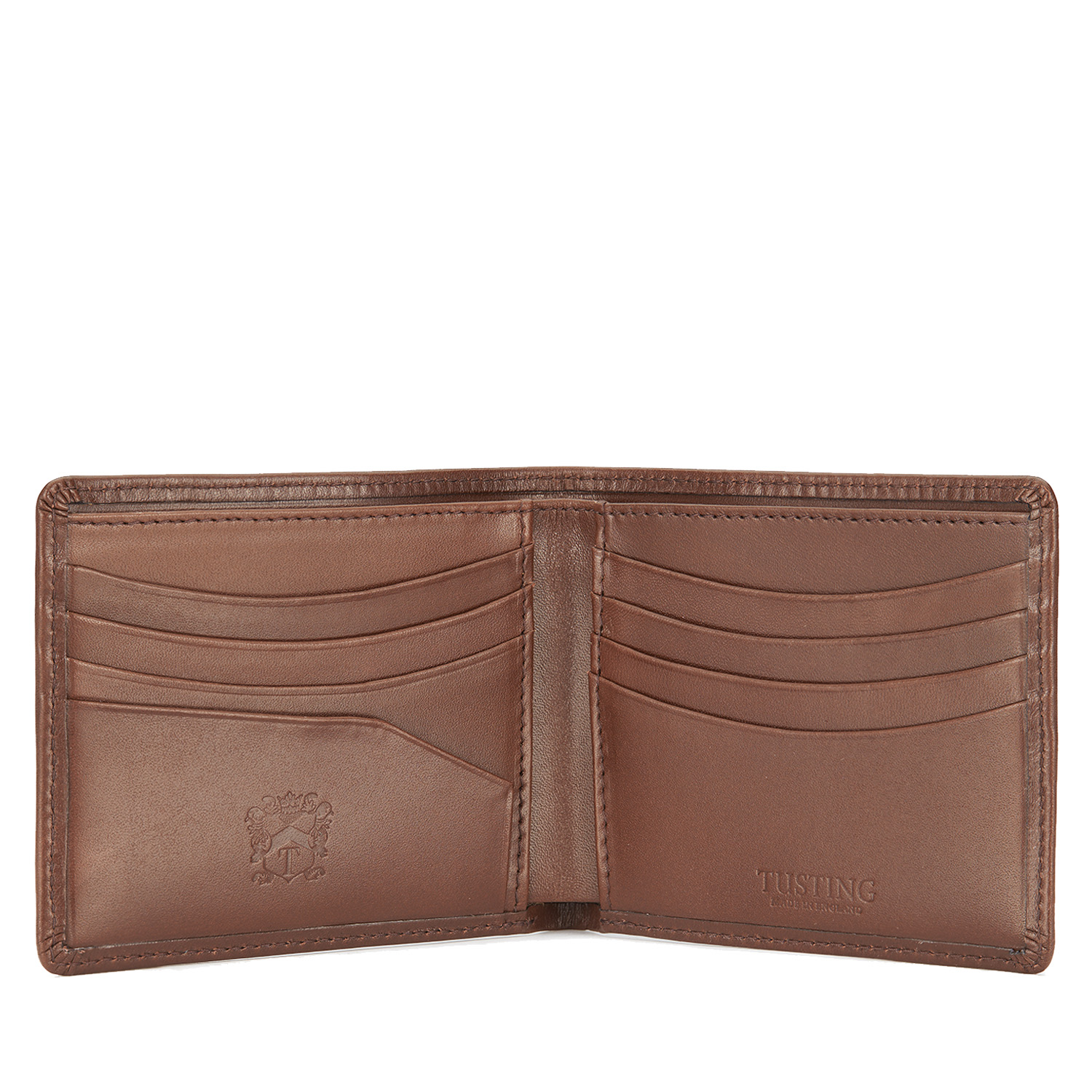 Tusting Dark Tan Leather Hip Wallet